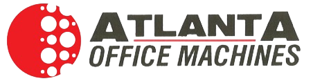 the atlanta office machine logo